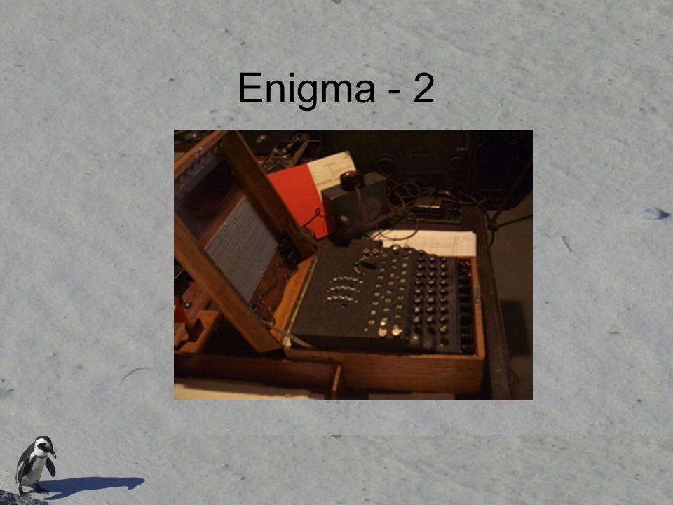 Enigma - 2