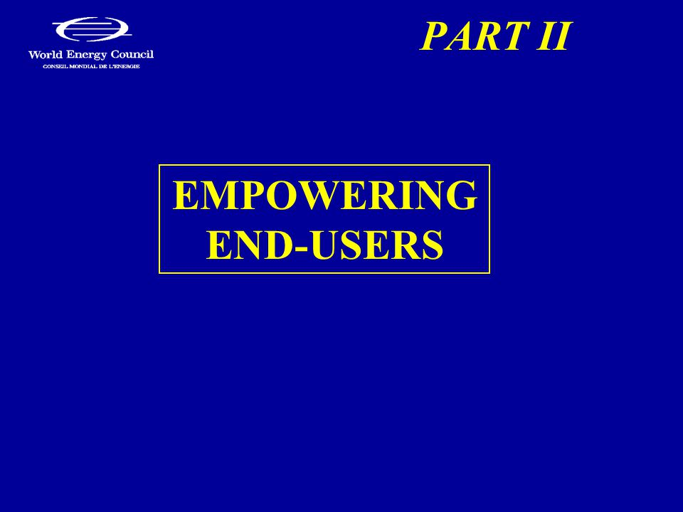 PART II EMPOWERING END-USERS