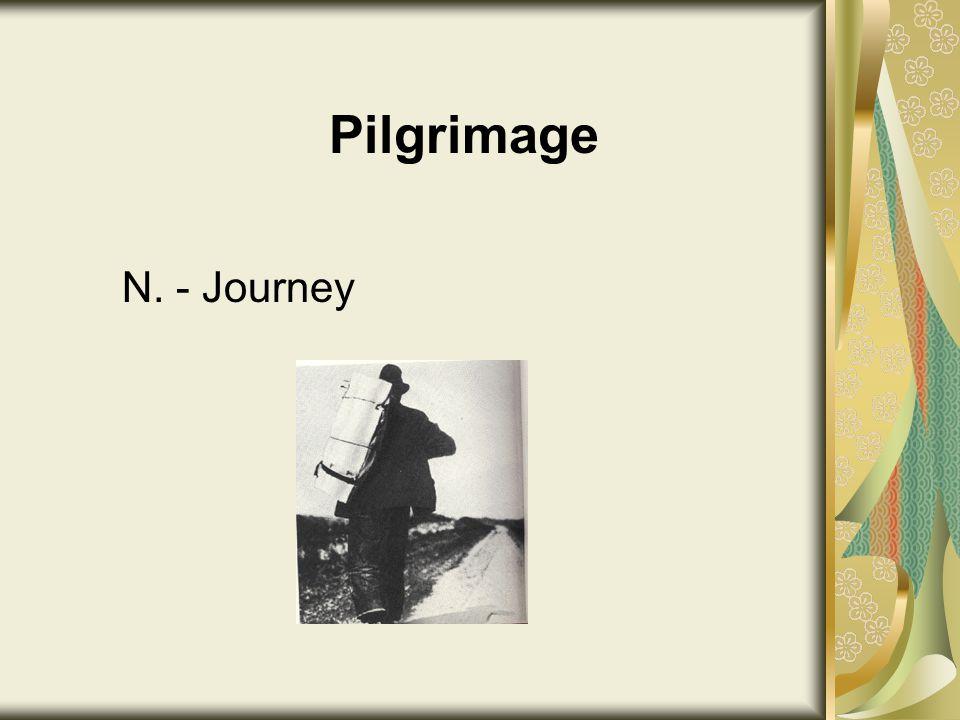 Pilgrimage N. - Journey