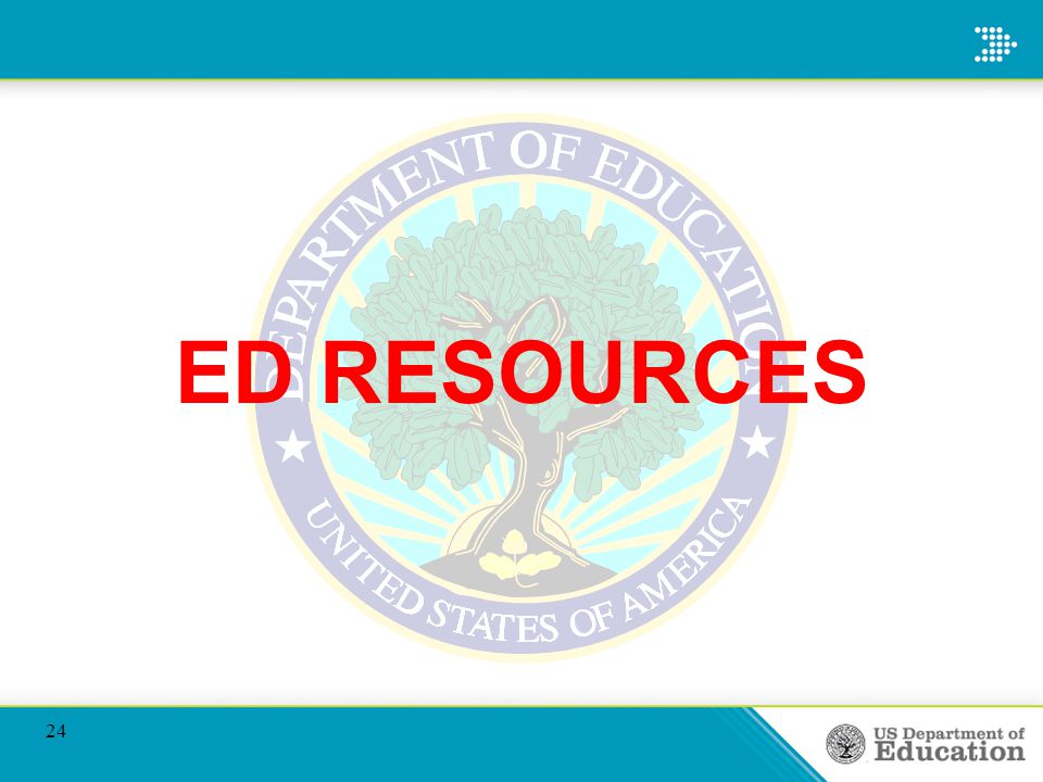 ED RESOURCES 24