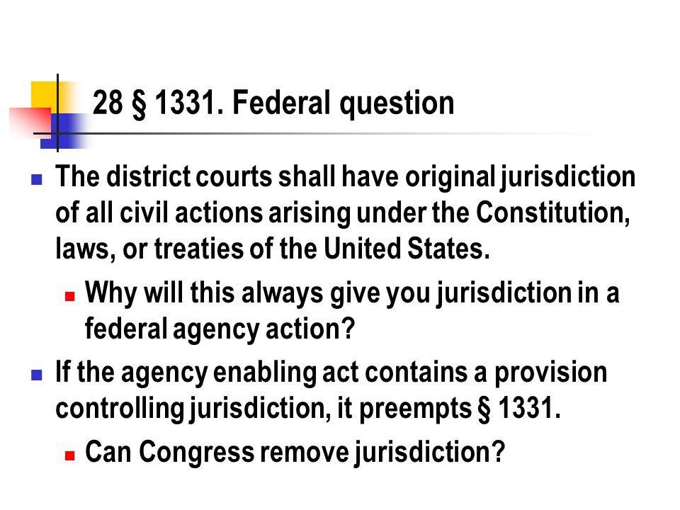 28 § 1331.