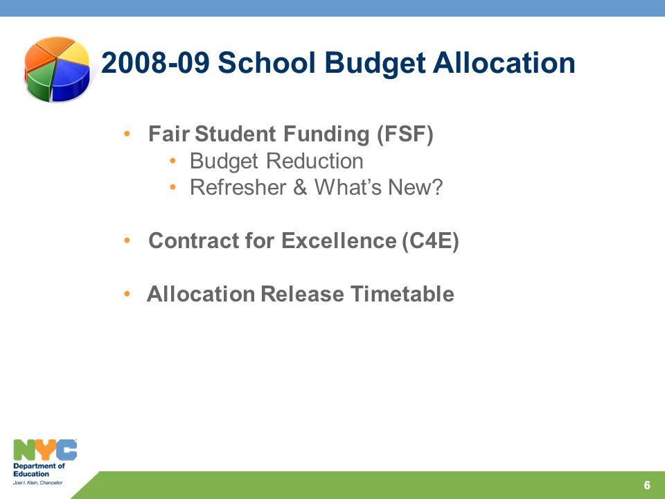 66 Fair Student Funding (FSF) Budget Reduction Refresher & What's New.
