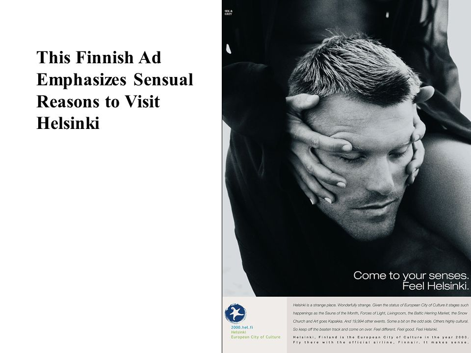 This Finnish Ad Emphasizes Sensual Reasons to Visit Helsinki