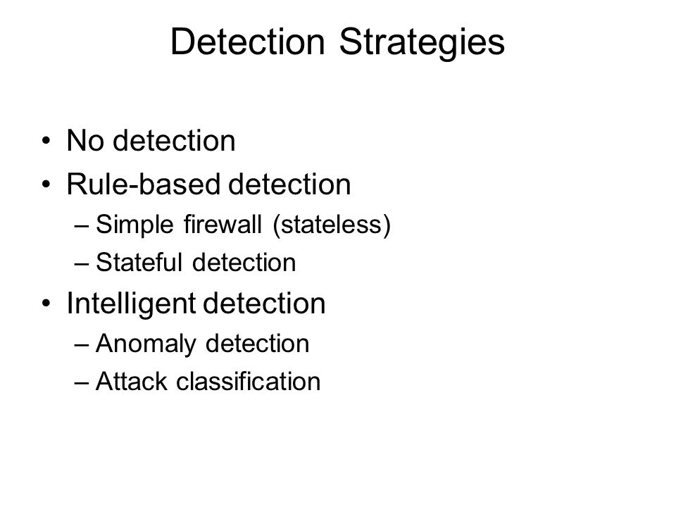 Observation Monitor integrity of all systems Isolate attacks to appropriate systems –Redirect attacks away from real systems –Generate attack logs usable by IDS and artificial opponents –Use an artificial opponent to collect more data –Conduct observation on system containing no real data
