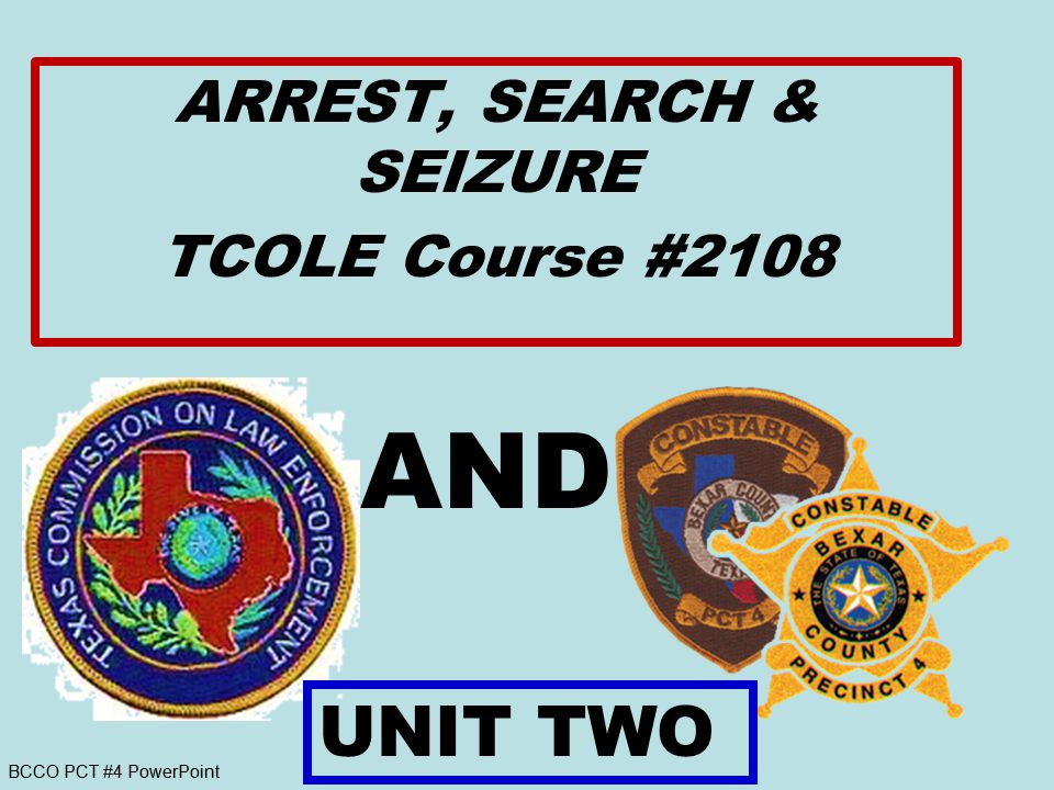 2.4 Write A Report (Document actions to justify warrantless Search & Seizure detailed account of the facts A.Reports will include a detailed, objective account of the facts and a subjective account of the officer s conclusions made from his viewpoint of the facts.