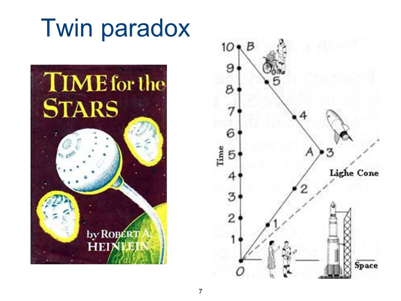 7 Twin paradox