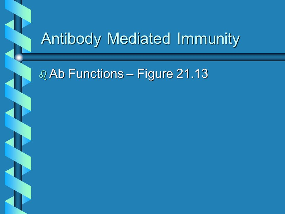 Antibody Mediated Immunity b Ab Functions – Figure 21.13