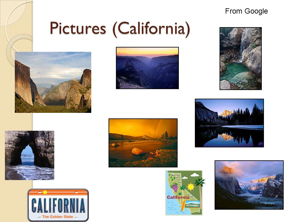 Pictures (California) From Google