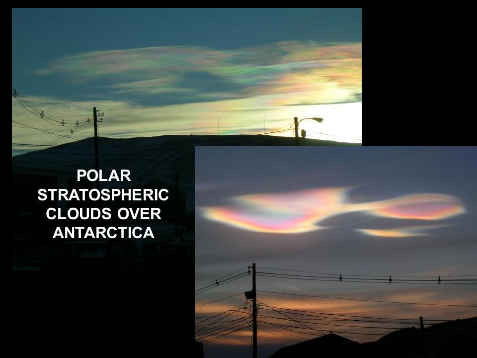 The special conditions that make ozone depletion most severe over polar regions (esp.