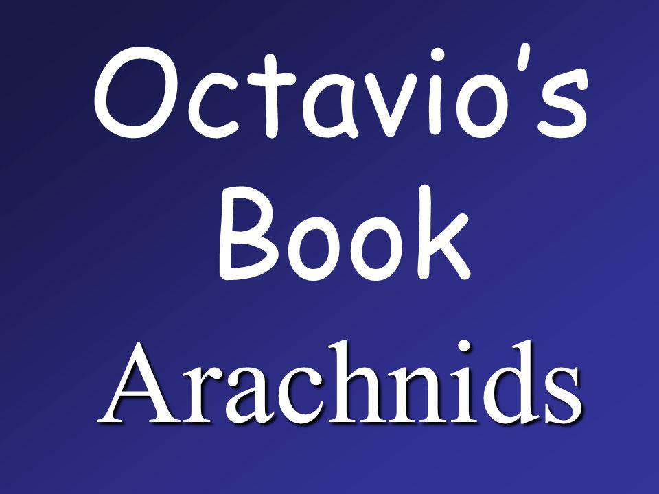 Arachnids Octavio's Book Arachnids