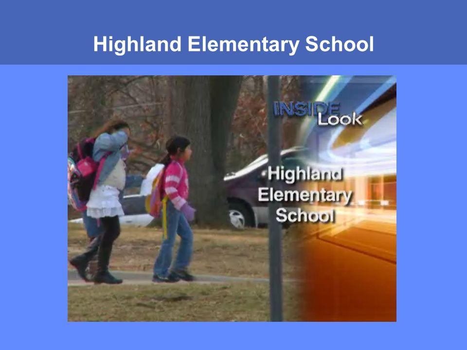 MONTGOMERY COUNTY PUBLIC SCHOOLS ROCKVILLE, MARYLAND Highland Elementary School