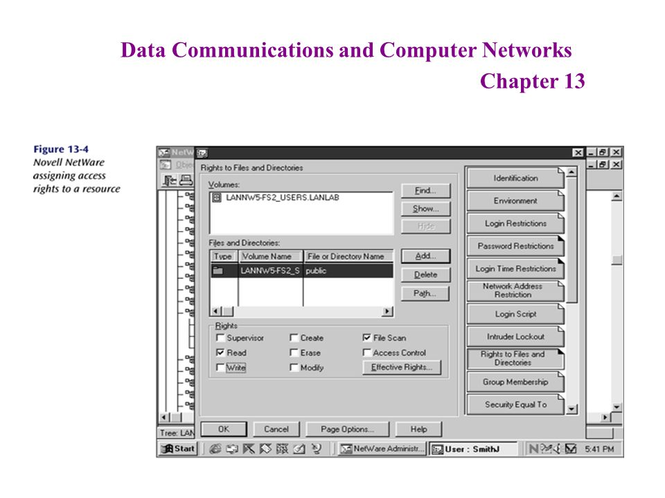 Data Communications and Computer Networks Chapter 13