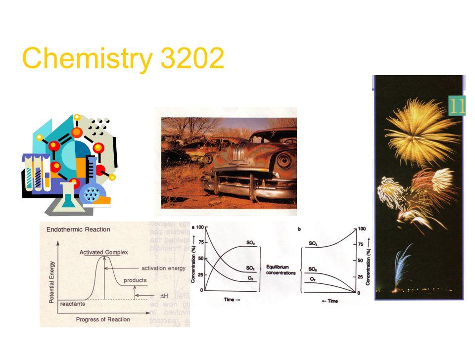 Chemistry 3202