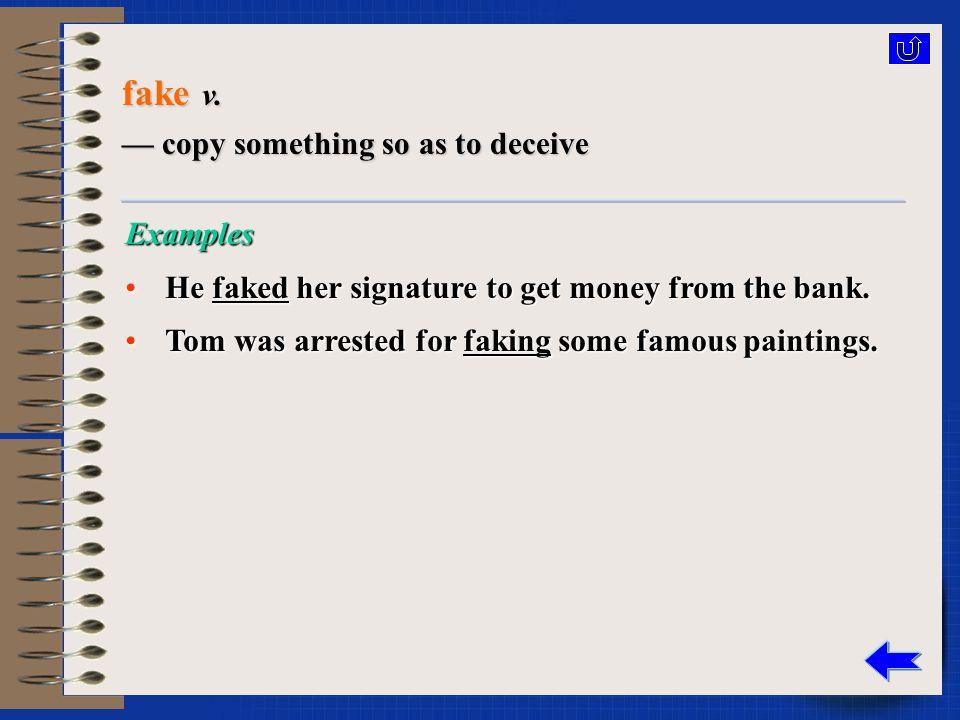 fake a.