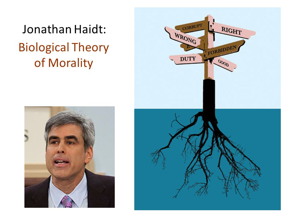 Haidt: Biological Theory of Morality How do people come to know what is right and wrong.