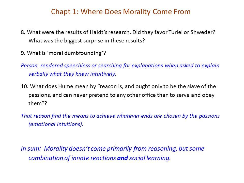 Homo economicus versus Homo Sapiens Chapt 7. The Moral Foundations of Politics