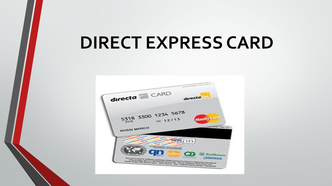 DIRECT EXPRESS CARD