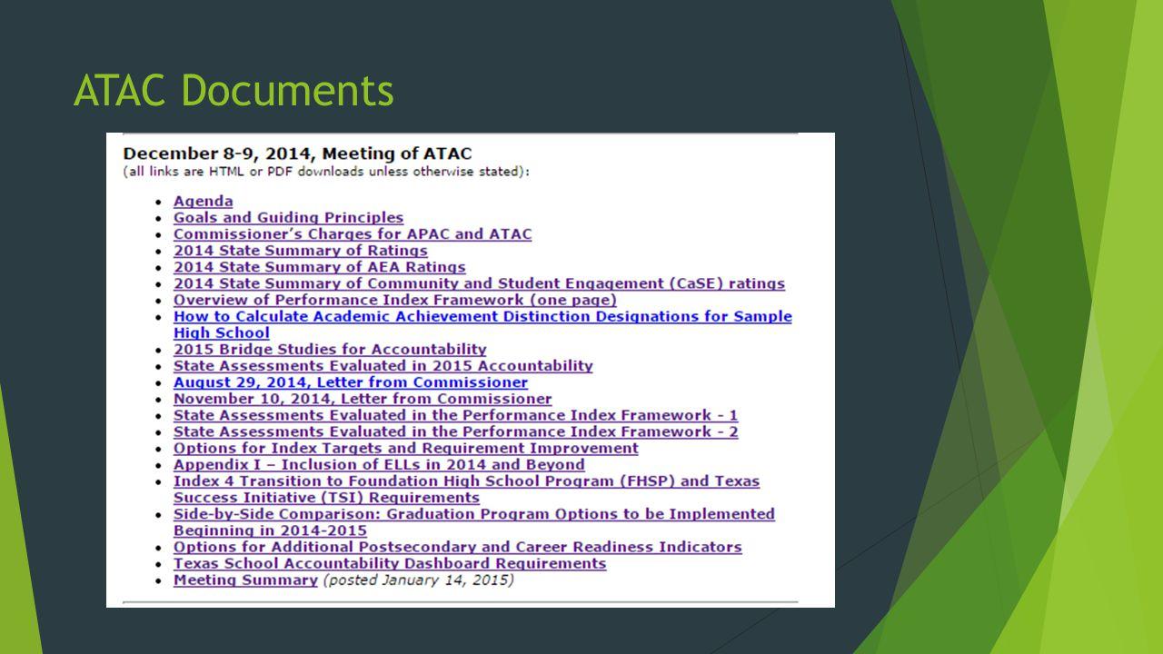 ATAC Documents