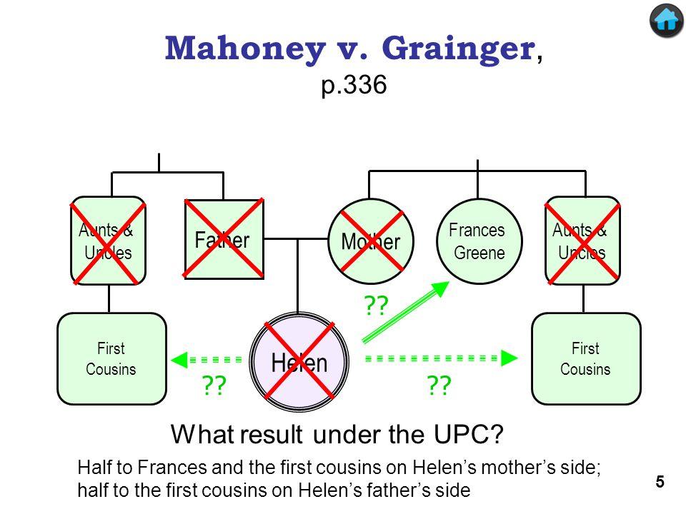 Mahoney v. Grainger . Mahoney v. Grainger, p.336 .
