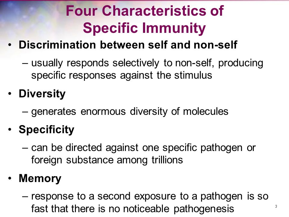 Types of Specific Immunity Humoral immunity –also called antibody- mediated immunity –based on antibody activity Cellular immunity –also called cell- mediated immunity –based on action of specific kinds of T lymphocytes 4