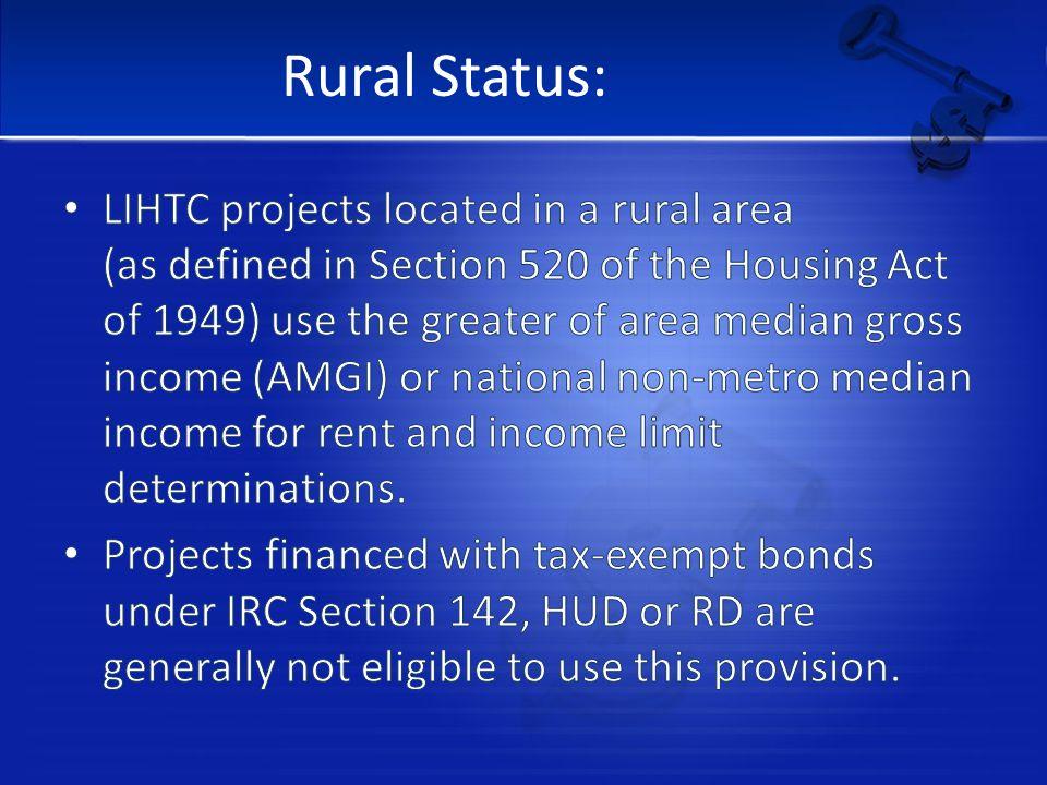 Rural Status: