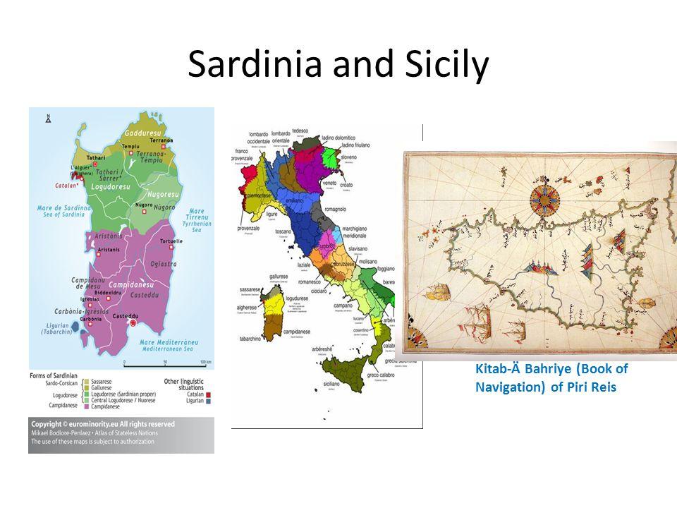 Sardinia and Sicily Kitab-Ä Bahriye (Book of Navigation) of Piri Reis