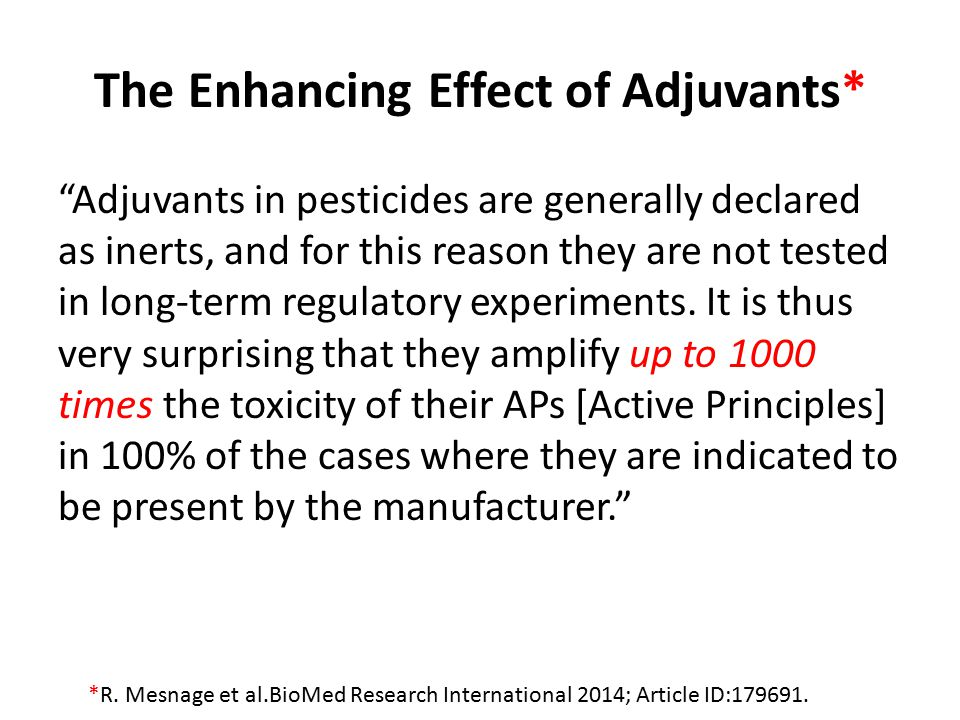 Is Glyphosate in Our Food.