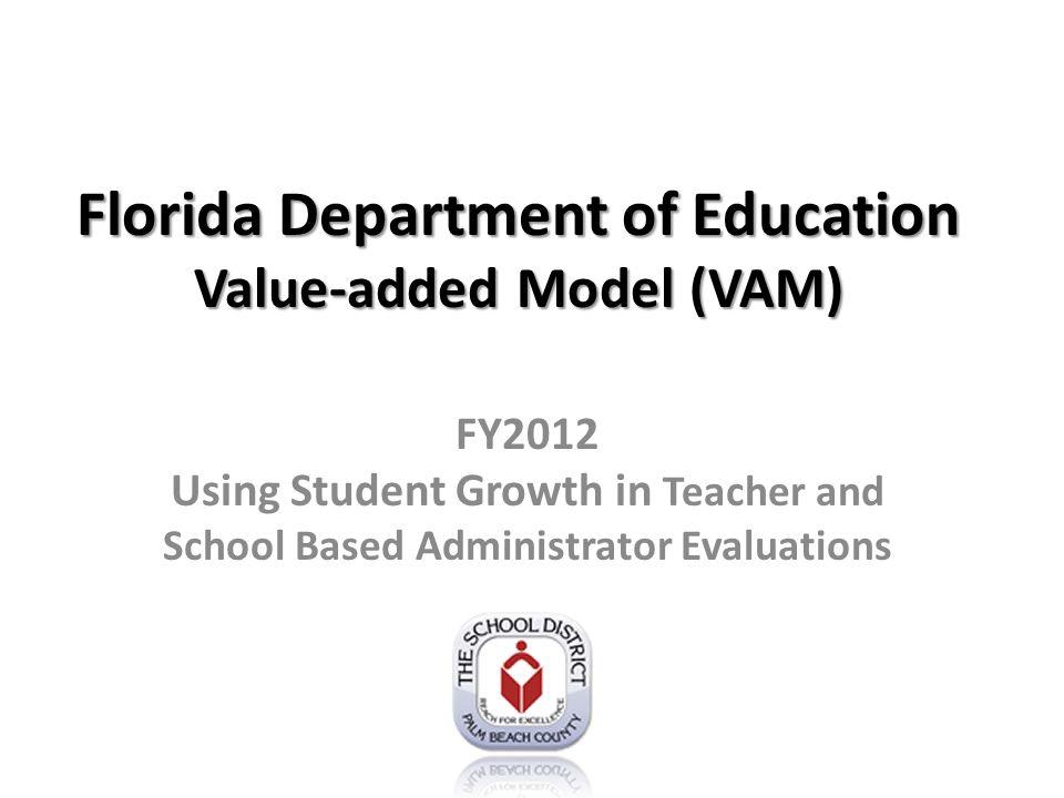 Common Score State creates scores on common scale Example: Jane Doe teaches intensive reading GradeSubject Student Count Teacher VAMCommon Score 9Reading186.041.07 10Reading16-0.08-0.01