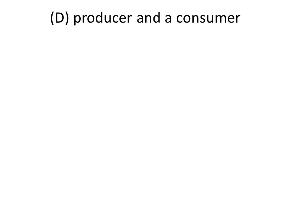 The diagram below represents a pyramid of energy that includes both producers and consumers.