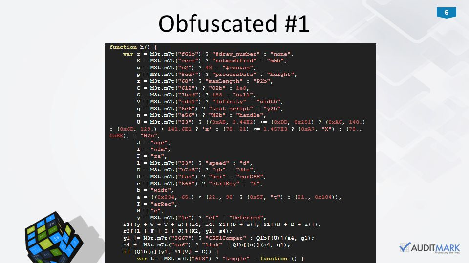 6 Obfuscated #1