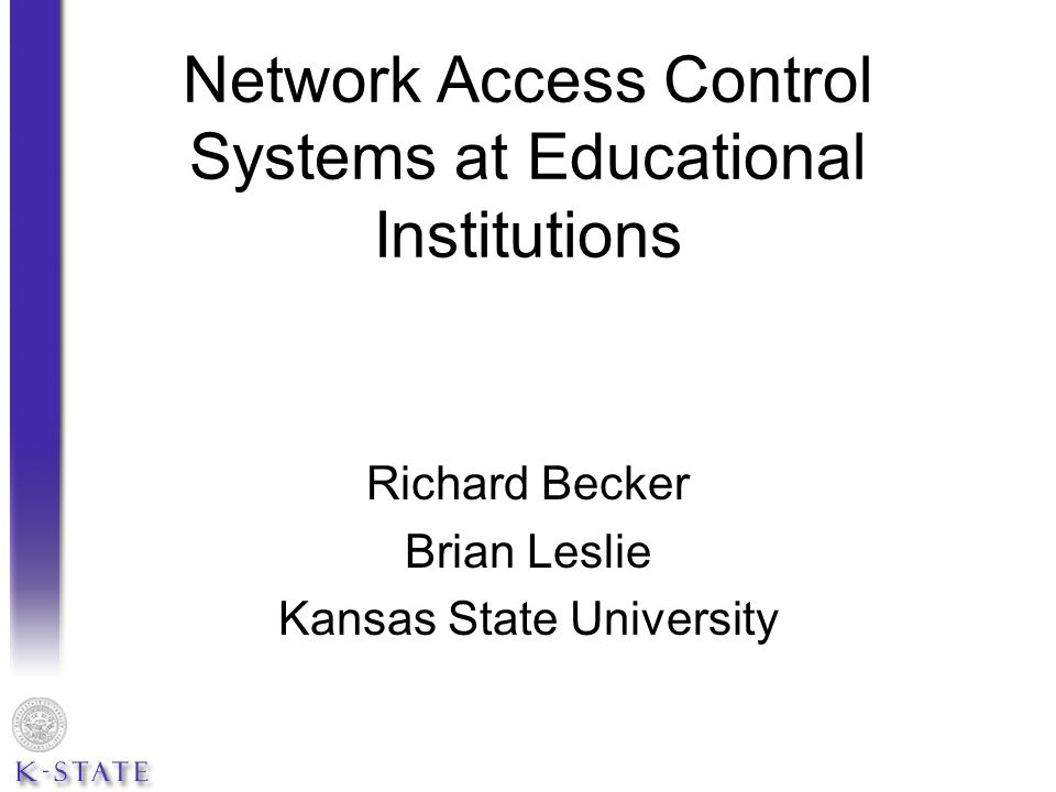 Kansas State s implementation of SafeConnect is based on these criteria: Apple Computers User authentication Campus antivirus (Trend Micro) turned on, definitions up-to-date OS X ver.10.5 or higher