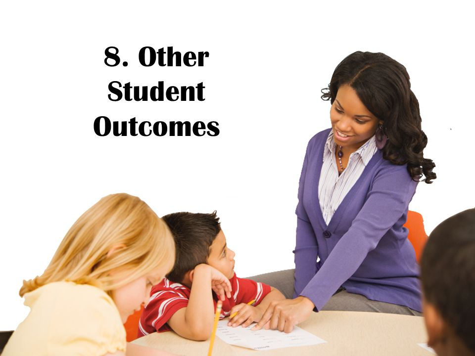 8. Other Student Outcomes