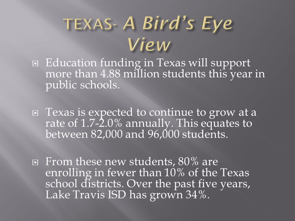  The Texas Education Code limits issuance of additional ad valorem tax bonds if the tax rate needed to pay aggregate principal and interest exceeds $0.50 per $100 of assessed valuation of taxable property within the district.