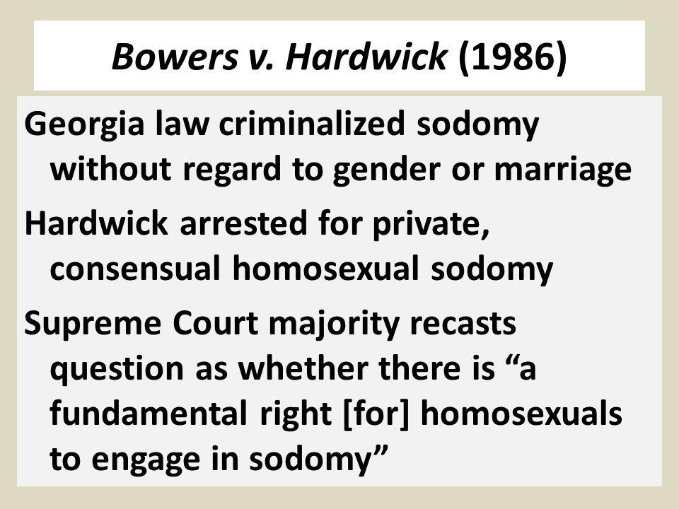 Bowers v.