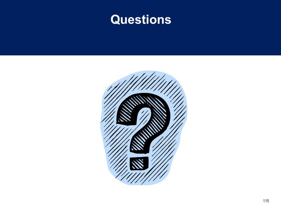 118 Questions