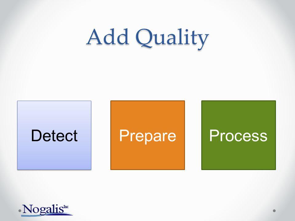 Add Quality Detect PrepareProcess