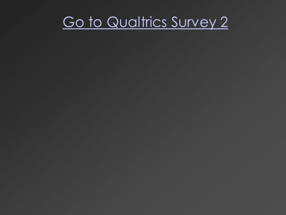 Go to Qualtrics Survey 2