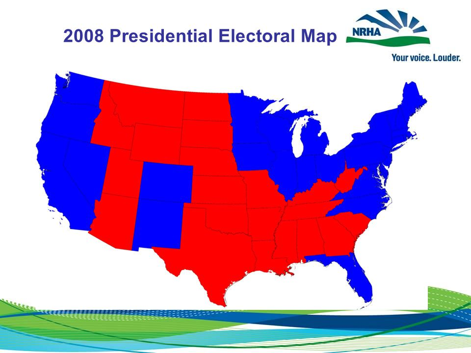 2008 Presidential Electoral Map