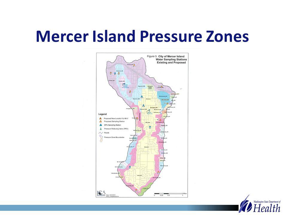 Mercer Island Pressure Zones