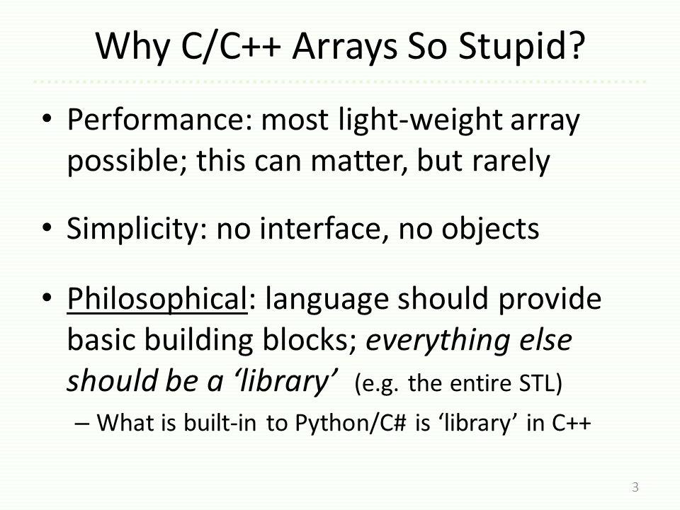 dynarray of Objects So...is it OK to create >size objects.