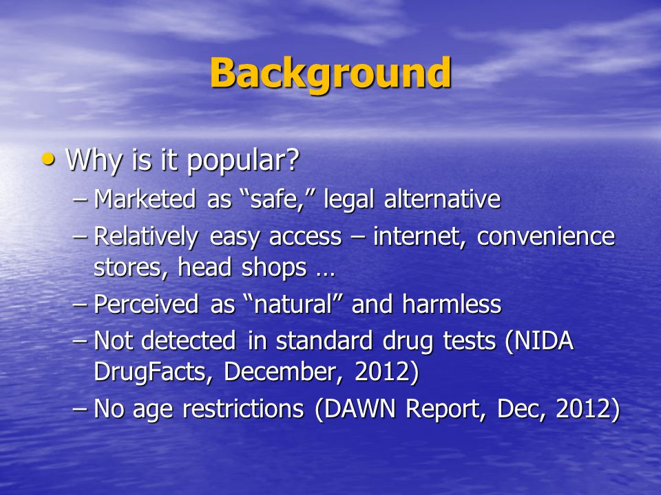 Background Why is it popular. Why is it popular.