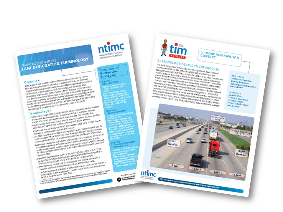 Lane Designation Terminology 16