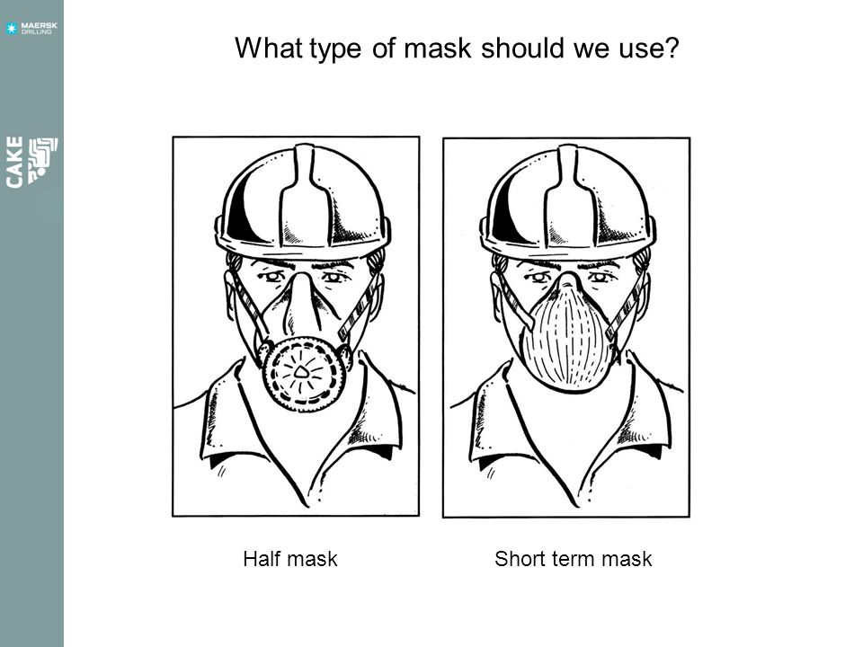 What type of mask should we use.
