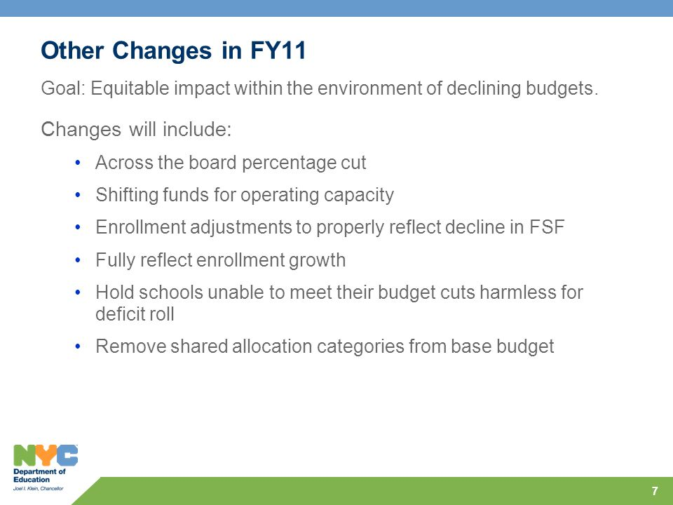 28 Agenda FY11 Overview Budget Reductions Human Resources Funding Shifts Enrollment Growth Other Changes