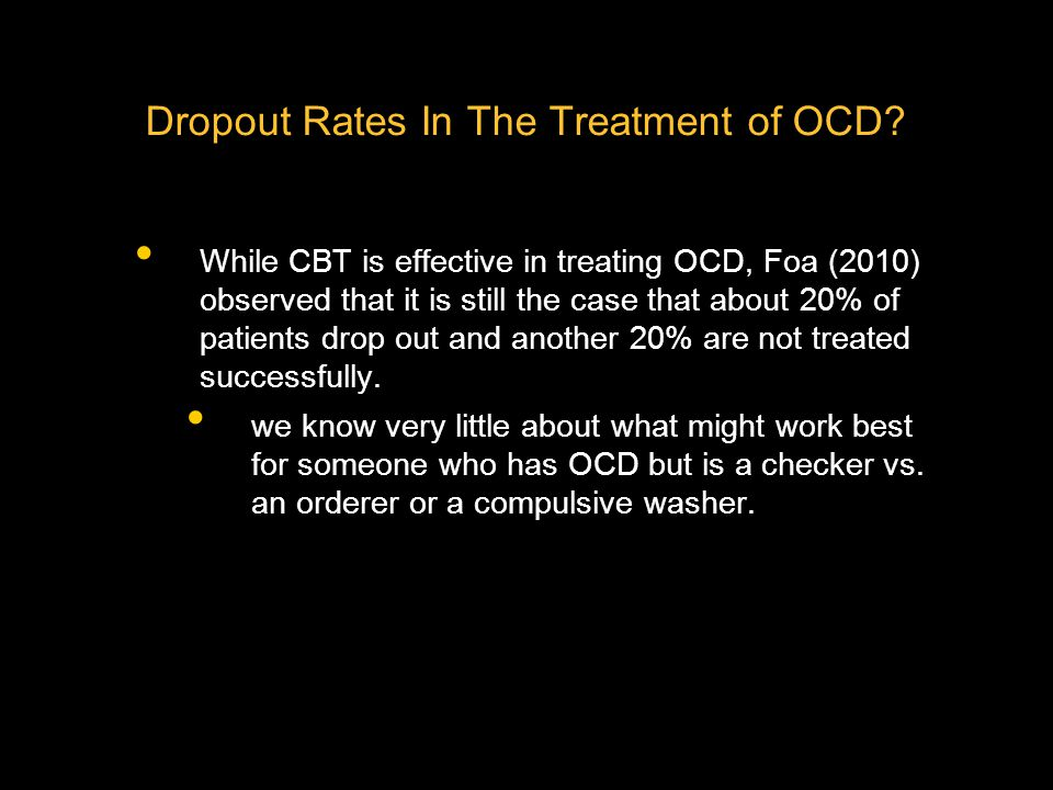 What Are The Key Processes Involved In Change in OCD.