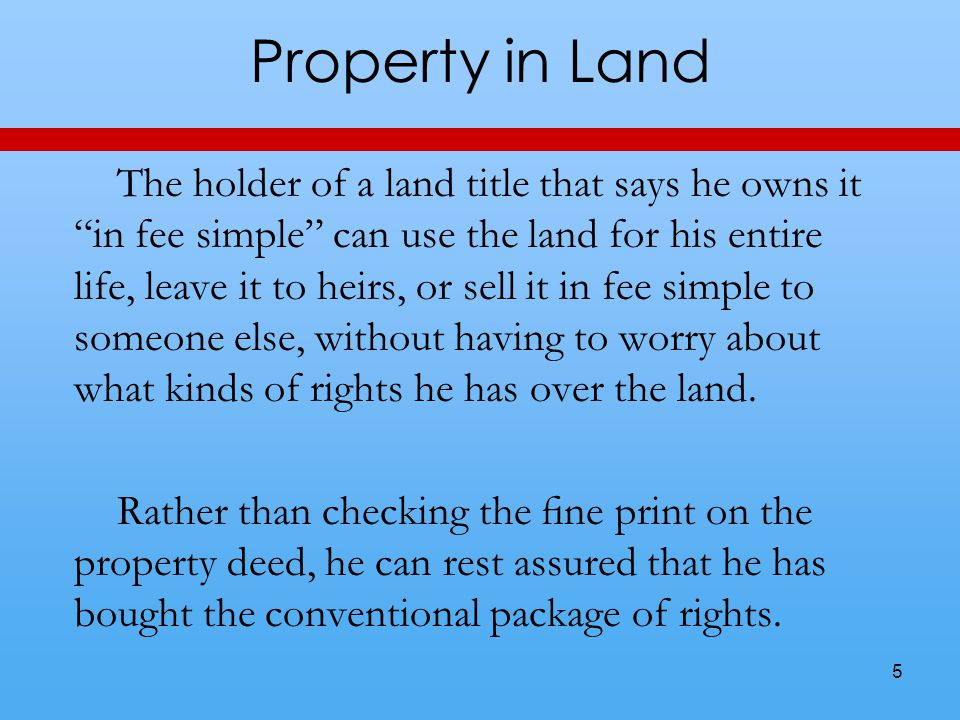 Creation Particularly important is that property rules award ownership to someone who creates something new.