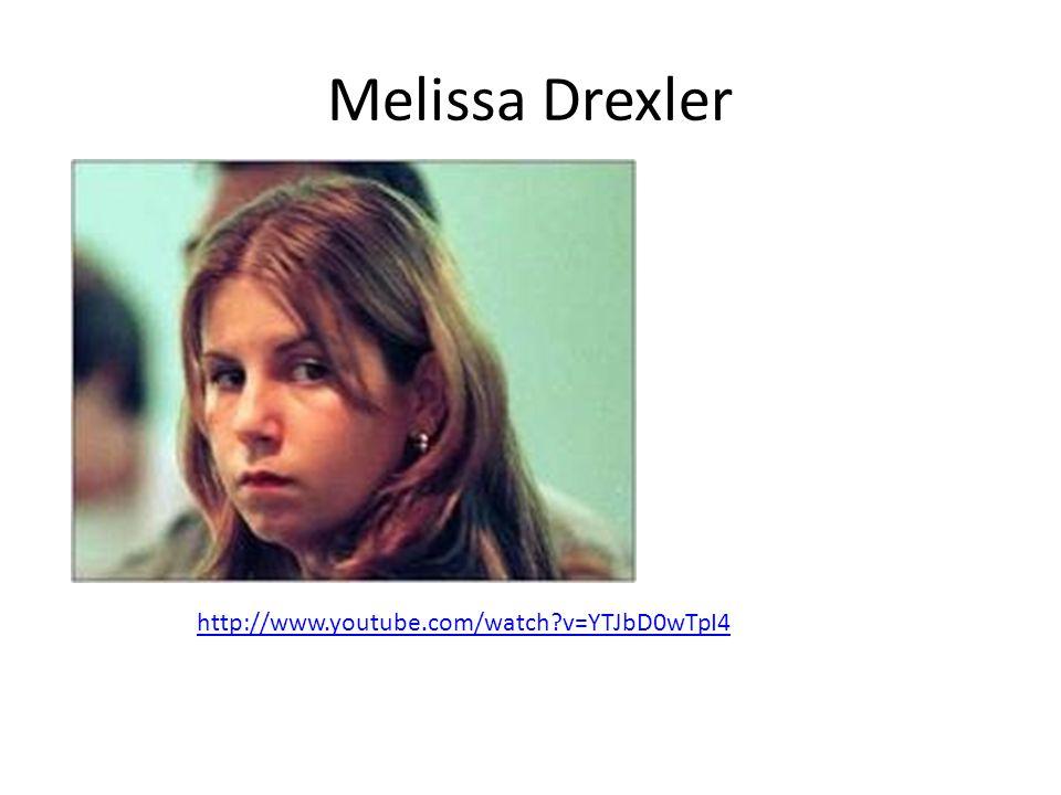 Melissa Drexler http://www.youtube.com/watch v=YTJbD0wTpI4