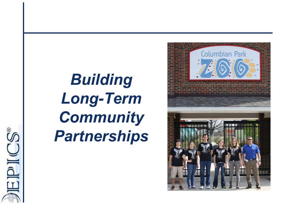 Building Long-Term Community Partnerships