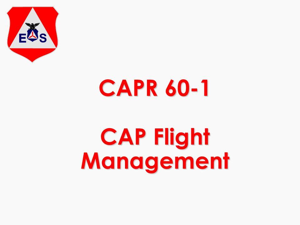 CAPR 60-1 CAP Flight Management