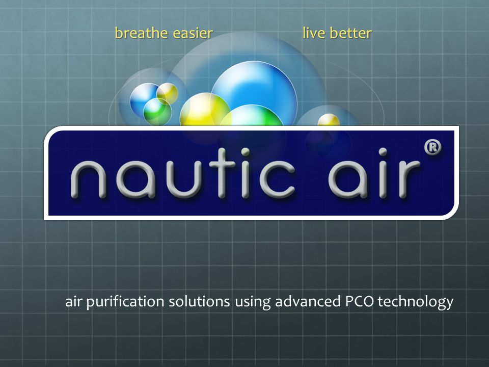 breathe easier live better air purification solutions using advanced PCO technology